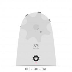 """Шина Oregon Single Rivet 3/8"""" 1.3 mm 40 cm"""