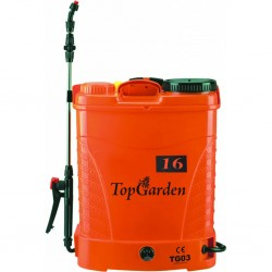 Акумулаторна пръскачка Top Garden TG03 16 л. 12 V / 8 Ah