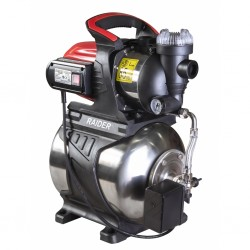 Хидрофорна помпа Raider RD-WP1200S, 1200 W, Inox