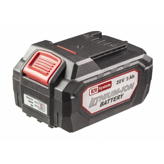 Акумулаторна батерия Raider R20 System, 20 V, 3.0 Ah, Li-ion