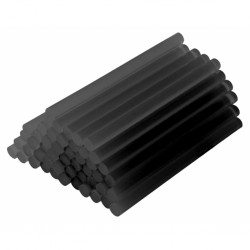 Силиконови пръчки за топло лепене Raider, черни, Ø 11 х 300 mm, 1 кг.